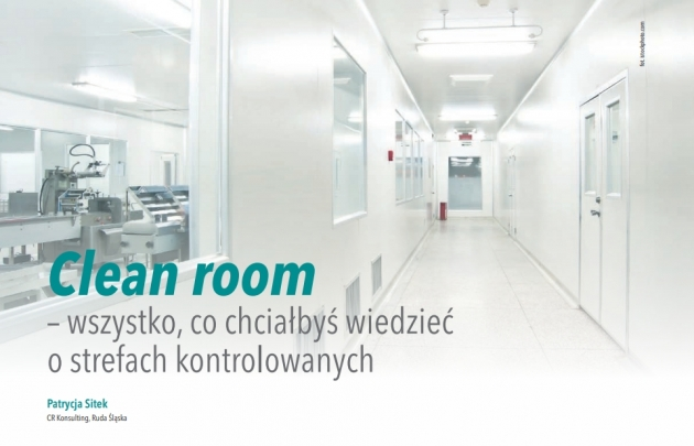 Cleanroom strefy kontrolowane